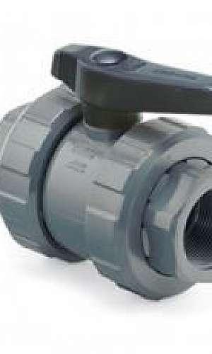 Conexões e válvulas em termoplástico distribuidor