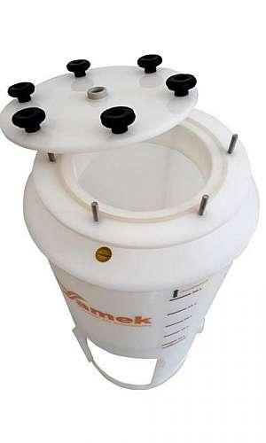 fermentador cônico refrigerado 100 litros