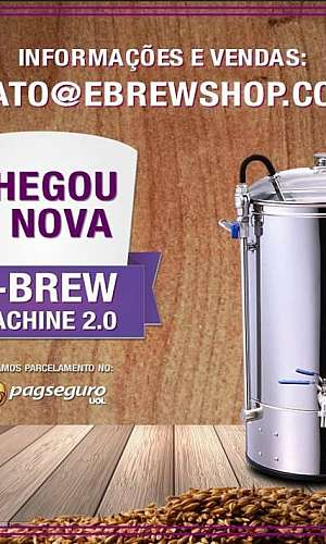 Maquina de fazer cerveja