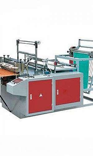 máquina fabricar saco de lixo