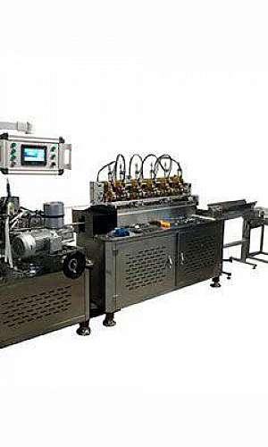 Máquina para fabricar canudo de papel