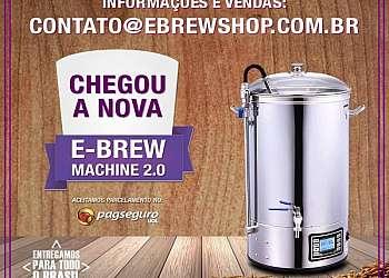 Máquina para fabricar cerveja artesanal