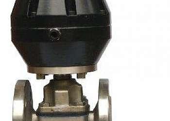 Válvula diafragma pneumática