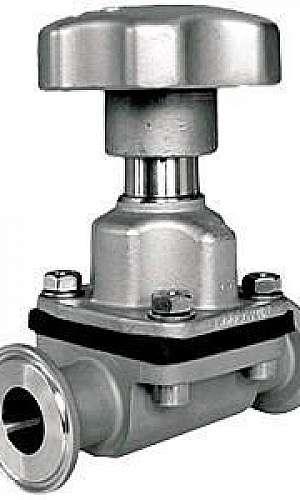 Válvula pneumática com diafragma